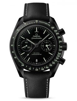 """Omega Speedmaster Moonwatch Co-Axial """"Pitch Black"""" Ceramic Men`s Watch 311.92.44.51.01.004"""
