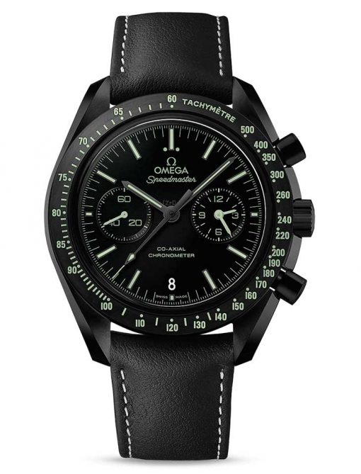 "Omega Speedmaster Moonwatch Co-Axial ""Pitch Black"" Ceramic Men`s Watch, 311.92.44.51.01.004"