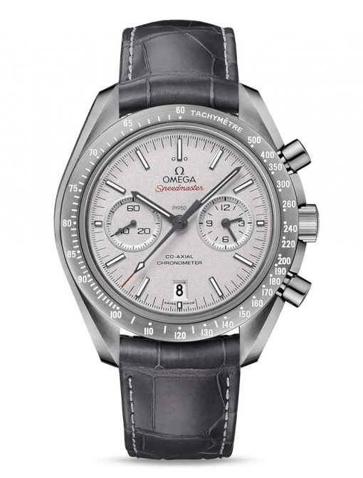 "Omega Speedmaster Moonwatch Co-Axial ""Grey Side of the Moon"" Ceramic Men`s Watch, 311.93.44.51.99.002"