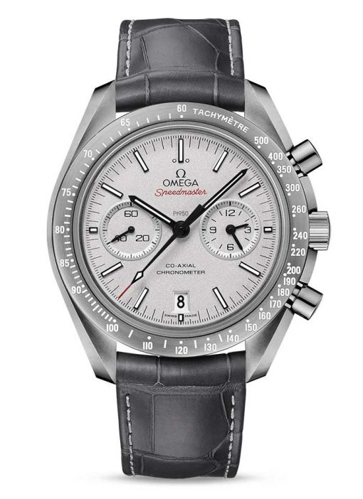 "Omega Speedmaster Moonwatch Co-Axial ""Grey Side of the Moon"" Ceramic Men`s Watch, 311.93.44.51.99.001"