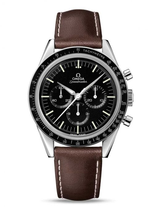 """Omega Speedmaster Moonwatch """" First Omega In Space"""" Stainless Steel Men`s Watch, 311.32.40.30.01.001"""