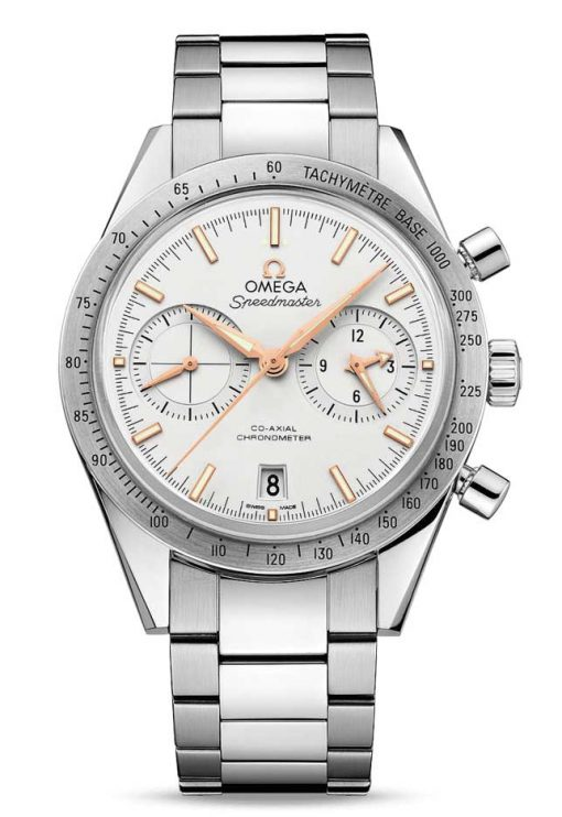 Omega Speedmaster '57 Co-Axial Stainless Steel Men's Watch, 331.10.42.51.02.002