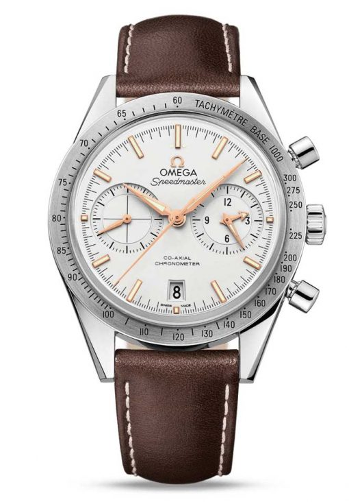 Omega Speedmaster '57 Co-Axial Chronograph Stainless Steel Men's Watch, 331.12.42.51.02.002