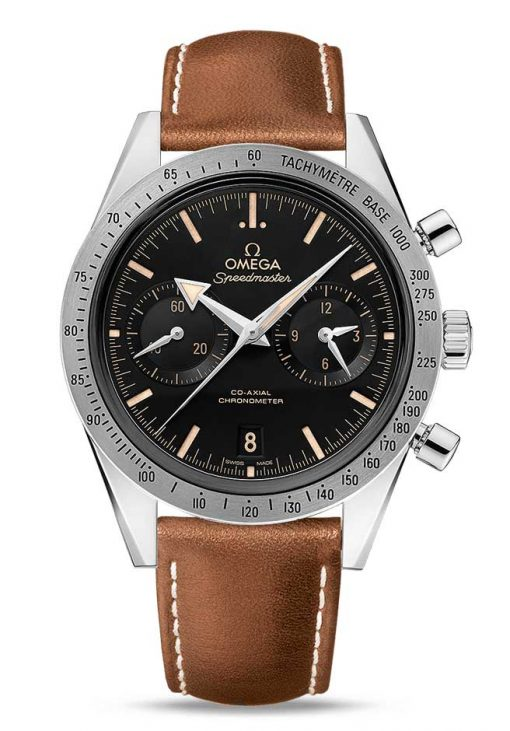 Omega Speedmaster '57 Co-Axial Chronograph Stainless Steel Men's Watch, 331.12.42.51.01.002