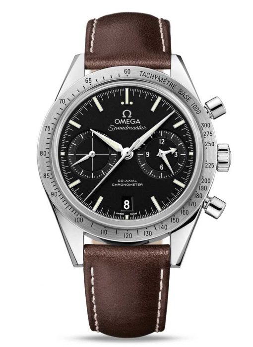 Omega Speedmaster '57 Co-Axial Chronograph Stainless Steel Men's Watch, 331.12.42.51.01.001
