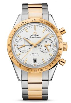 Omega Speedmaster '57 Co-Axial Chronograph Stainless Steel &18K Yellow Gold Men's Watch 331.20.42.51.02.001