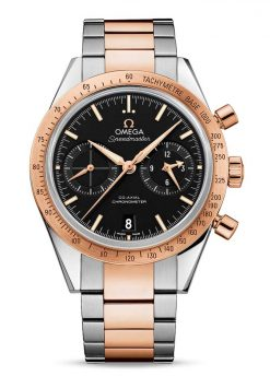 Omega Speedmaster '57 Co-Axial Chronograph Stainless Steel & 18K Red Gold Men's Watch 331.20.42.51.01.002