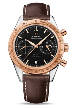 Omega Speedmaster '57 Co-Axial Chronograph Stainless Steel & 18K Red Gold Men's Watch 331.22.42.51.01.001