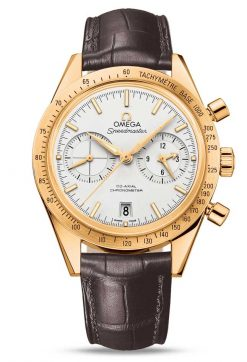 Omega Speedmaster '57 Co-Axial Chronograph 18K Yellow Gold Men's Watch 331.53.42.51.02.001
