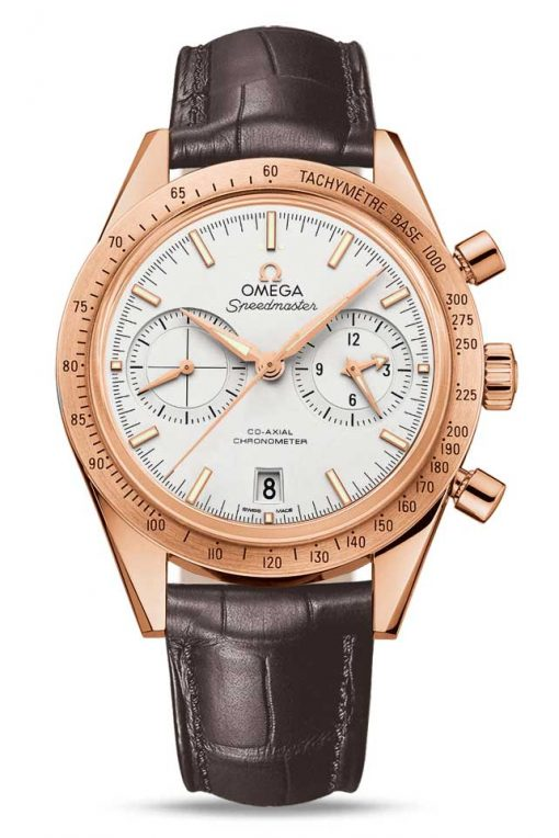 Omega Speedmaster '57 Co-Axial Chronograph 18K Red Gold Men's Watch, 331.53.42.51.02.002