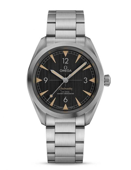 Omega Seamaster Railmaster Co-Axial Master Stainless Steel Men`s Watch, 220.10.40.20.01.001