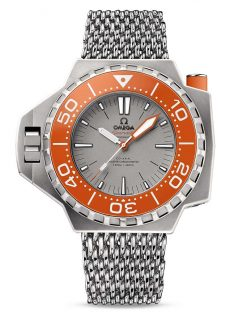 Omega Seamaster Ploprof Co-Axial Master 5 Titanium Men`s Watch 227.90.55.21.99.002