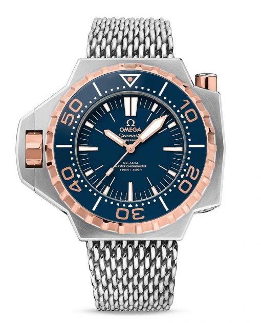 Omega Seamaster Ploprof Co-Axial Master  18K Sedna™ gold & 5 Titanium Men`s Watch, 227.60.55.21.03.001