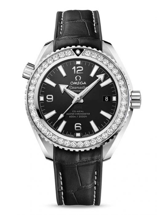 Omega Seamaster Planet Ocean Co-Axial Master Stainless Steel & Diamonds Unisex Watch, 215.18.40.20.01.001
