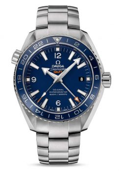 Omega Seamaster Planet Ocean Co-Axial GMT Titanium Men's Watch 232.90.44.22.03.001