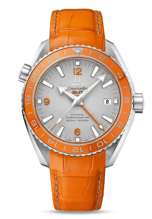 Omega Seamaster Planet Ocean Co-Axial GMT Limited Edition 950-Platinum Men's Watch, 232.93.44.22.99.001