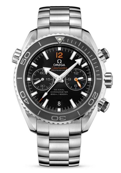 Omega Seamaster Planet Ocean Co-Axial Chronograph Stainless Steel Men's Watch, 232.30.46.51.01.003