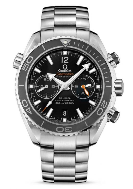 Omega Seamaster Planet Ocean Co-Axial Chronograph Stainless Steel Men's Watch, 232.30.46.51.01.001