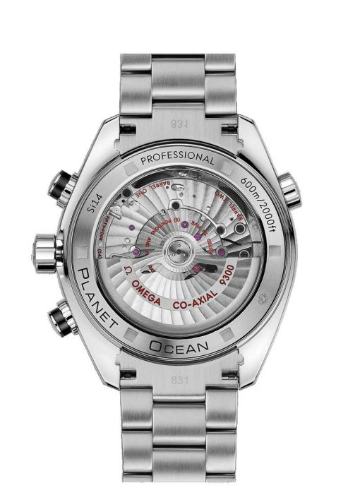 Omega Seamaster Planet Ocean Co-Axial Chronograph Stainless Steel Men's Watch, 232.30.46.51.01.001 2