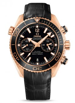 Omega Seamaster Planet Ocean Co-Axial Chronograph 18K Red Gold Men's Watch 232.63.46.51.01.001