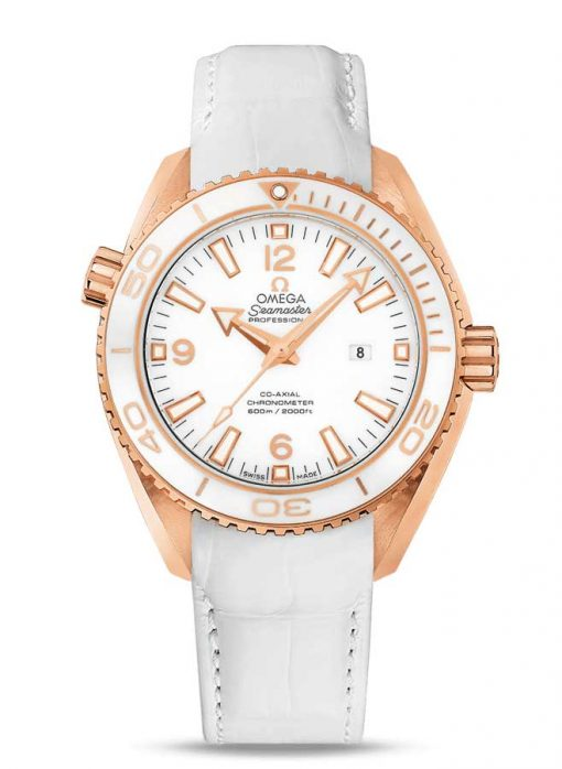 Omega Seamaster Planet Ocean Co-Axial 18K Red Gold Unisex Watch, 232.63.38.20.04.001