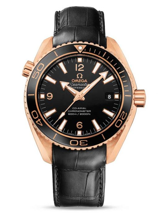 Omega Seamaster Planet Ocean Co-Axial 18K Red Gold Men's Watch, 232.63.42.21.01.001