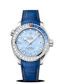 Omega Seamaster Planet Ocean 600M Co-Axial Master Limited Edition 18K White Gold &… 215.58.44.21.07.001
