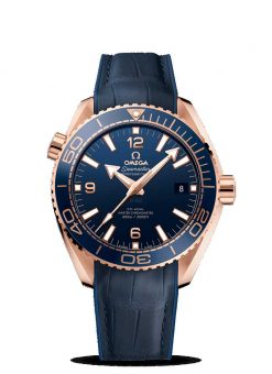 Omega Seamaster Planet Ocean 600M Co-Axial Master 18K Sedna™ gold Men's Watch 215.63.44.21.03.001
