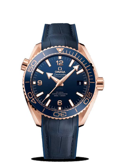 Omega Seamaster Planet Ocean 600M Co-Axial Master 18K Sedna™ gold Men's Watch, 215.63.44.21.03.001