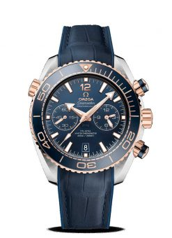 Omega Seamaster Planet Ocean 600M Co-Axial Master 18K Sedna™ Gold & Stainless Steel… 215.23.46.51.03.001