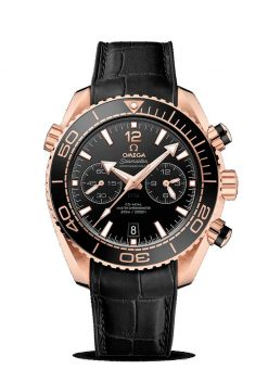 Omega Seamaster Planet Ocean 600M Co-Axial Master 18K Sedna™ Gold Men's Watch 215.63.46.51.01.001