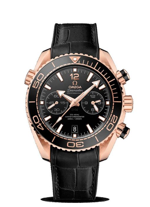 Omega Seamaster Planet Ocean 600M Co-Axial Master  18K Sedna™ Gold Men's Watch, 215.63.46.51.01.001