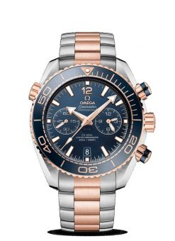 Omega Seamaster Planet Ocean 600M Co-Axial Master 18K Sedna™ Gold & Stainless Steel… 215.20.46.51.03.001