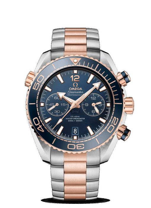 Omega Seamaster Planet Ocean 600M Co-Axial Master  18K Sedna™ Gold & Stainless Steel Men's Watch, 215.20.46.51.03.001