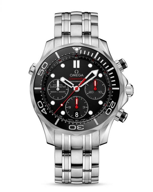 Omega Seamaster Diver Co-Axial Stainless Steel Men`s Watch, 212.30.42.50.01.001