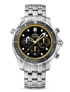 Omega Seamaster Diver Co-Axial Stainless Steel Men`s Watch 212.30.44.50.01.002