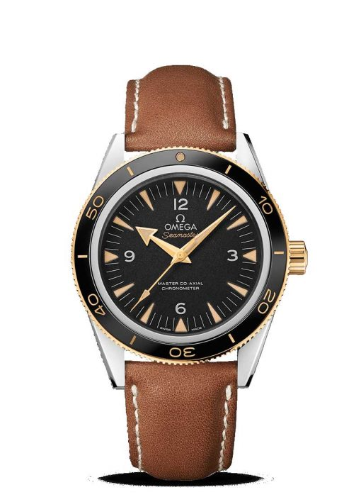 Omega Seamaster Aqua Terra Co-Axial Master Stainless Steel & 18K Yellow gold Men's Watch, 233.22.41.21.01.001