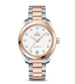 Omega Seamaster Aqua Terra Co-Axial Master Stainless Steel & 18K Sedna™ Gold &… 220.20.34.20.52.001