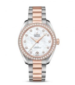 Omega Seamaster Aqua Terra Co-Axial Master Stainless Steel & 18K Sedna™ Gold &… 220.25.34.20.55.001