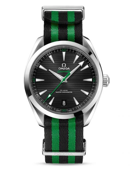 Omega Seamaster Aqua Terra Co-Axial Master Golf Edition Stainless Steel Men`s Watch, 220.12.41.21.01.002