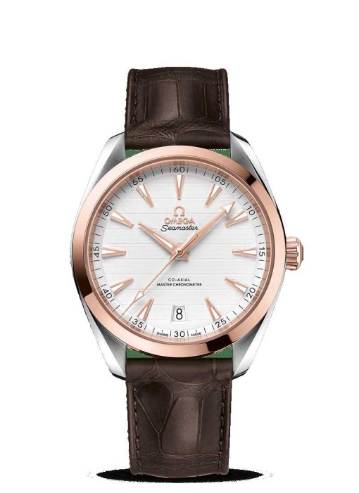 Omega Seamaster Aqua Terra Co-Axial Master 18K Sedna™ Gold & Stainless Steel Men's Watch, 220.23.41.21.02.001