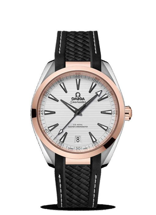 Omega Seamaster Aqua Terra Co-Axial Master 18K Sedna™ gold & Stainless Steel Men's Watch, 220.22.41.21.02.001
