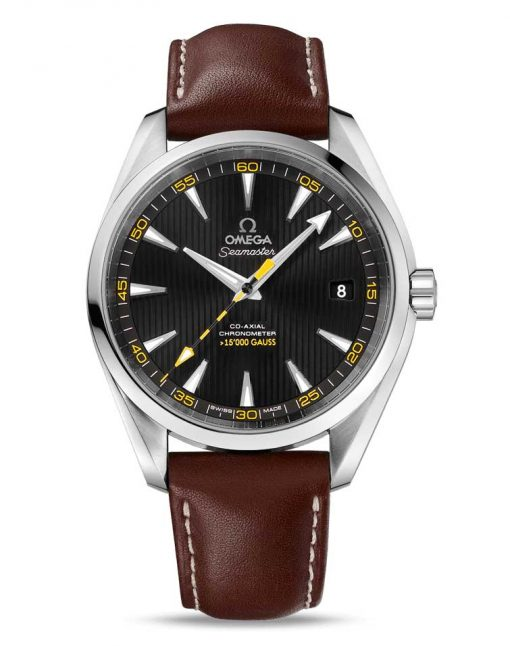 Omega Seamaster Aqua Terra Co-Axial Master 15,000 Gauss Edition Stainless Steel Men`s Watch, 231.12.42.21.01.001