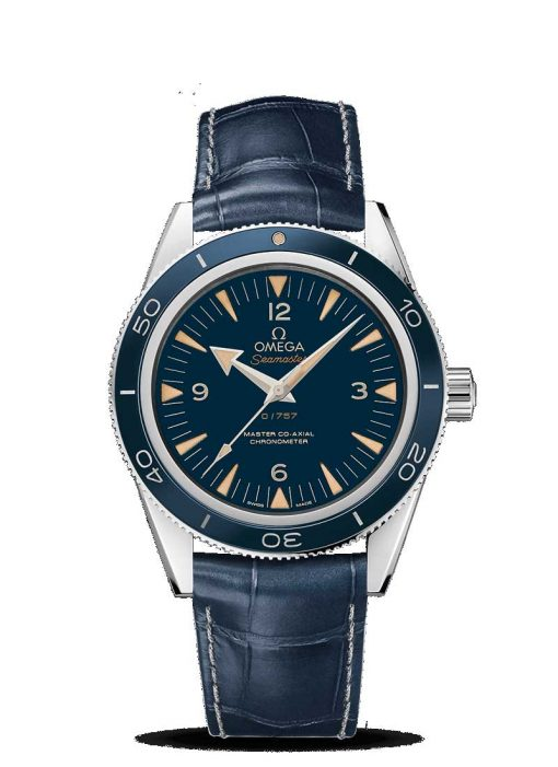 Omega Seamaster 300 Master Co-Axial 950 Platinum Men's Watch, 233.93.41.21.03.001