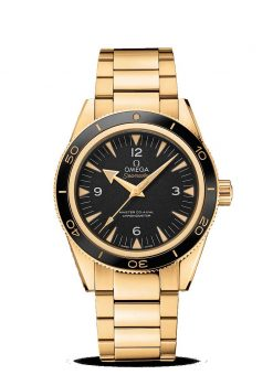 Omega Seamaster 300 Co-Axial Master 18K Yellow Gold Men's Watch 233.60.41.21.01.002