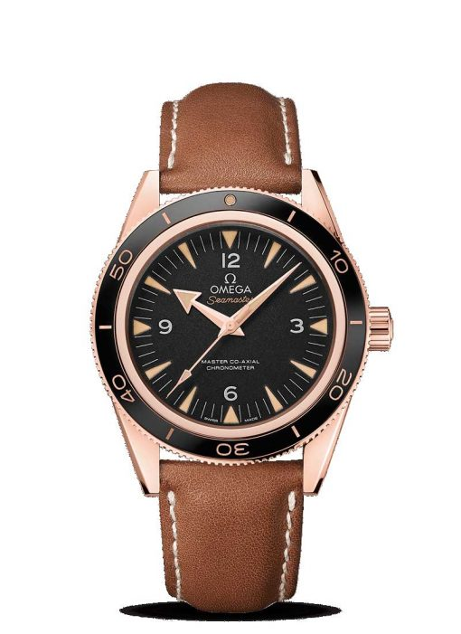 Omega Seamaster 300 Co-Axial Master 18K Sedna™ Gold Men's Watch, 233.62.41.21.01.002