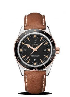 Omega Seamaster 300 Co-Axial Master 18K Sedna™ Gold & Stainless Steel Men's Watch 233.22.41.21.01.002