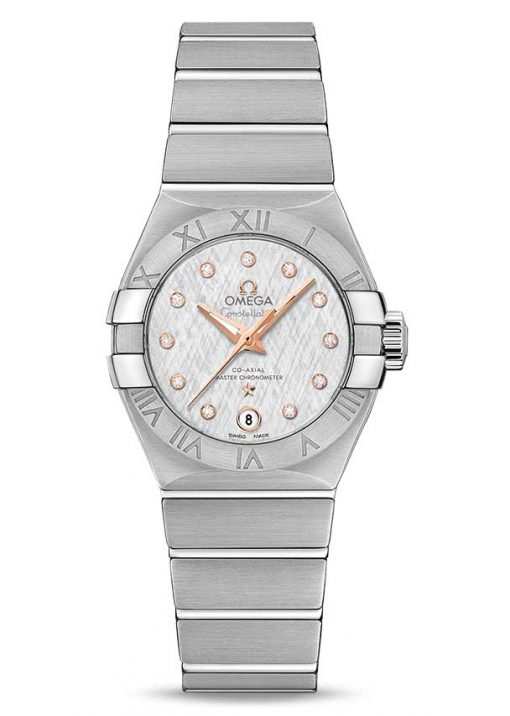 Omega Constellation Co-Axial Master Stainless Steel Ladies Watch, 127.10.27.20.52.001
