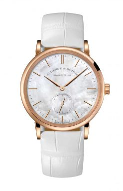A. Lange and Sohne Saxonia Rose Gold Ladies' Watch 219.043