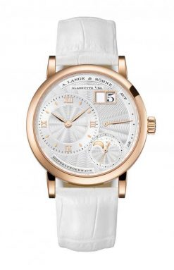A. Lange And Sohne Little Lange 1 Moonphase 18K Rose Gold Ladies Watch 182.030